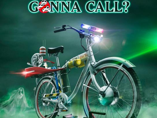 General Traffic Department of Spain Print Ad - Who you gonna call?