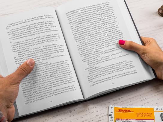 DHL Print Ad -  Book
