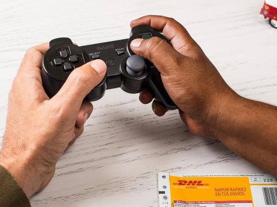 DHL Print Ad -  Controller