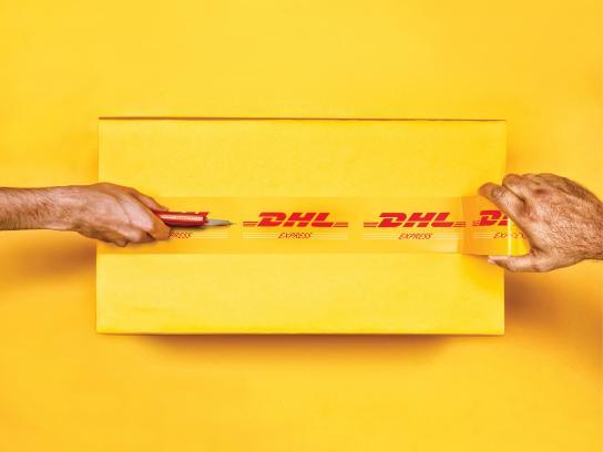 DHL Print Ad -  Hands, 1