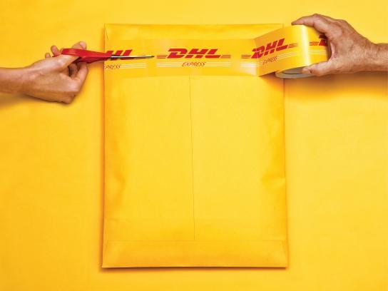 DHL Print Ad -  Hands, 3