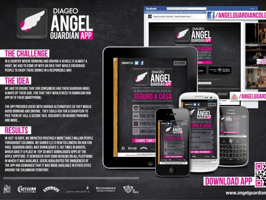 Diageo Digital Ad -  Don't Drink and Drive, Guardian Angel App