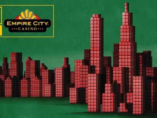 Empire City Casino Outdoor Ad -  Dice