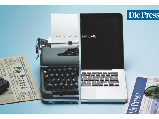 Die Presse Print Ad -  Laptop