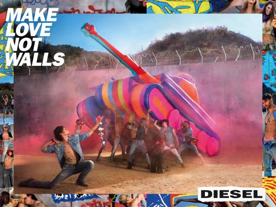 Diesel Print Ad - Wall