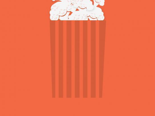 Diet Watchers Outdoor Ad - Substitutions - Popcorn