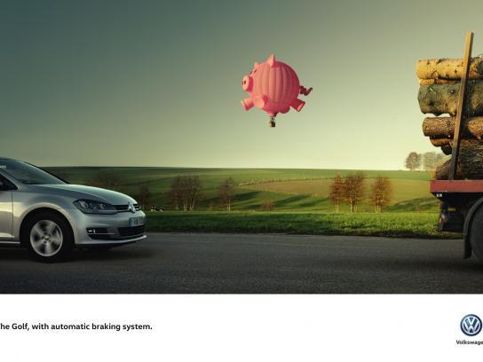 Volkswagen Print Ad -  Pig