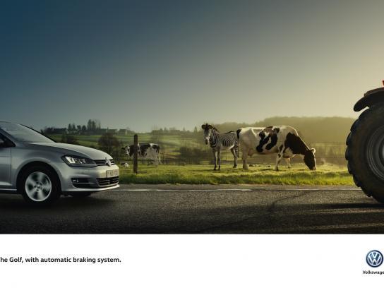 Volkswagen Print Ad -  Zebra
