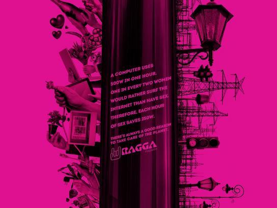 Ragga Magazine Print Ad -  Dildo