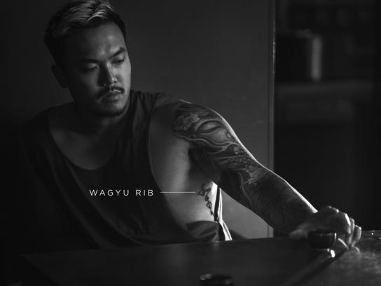 Dim Dining Print Ad - Wagyu Rib