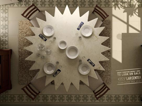 Lar Center Print Ad -  Dining Room