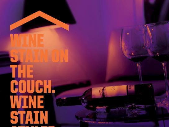 Diseño Print Ad -  Wine