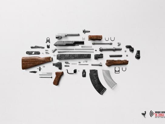 Disque Denúncia Print Ad -  No trigger, 1