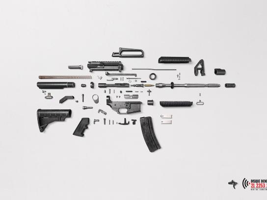 Disque Denúncia Print Ad -  No trigger, 2