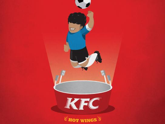 KFC Print Ad - Spice Things Up: Divine Intervention