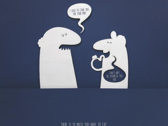 Alka Seltzer Print Ad - Divorce