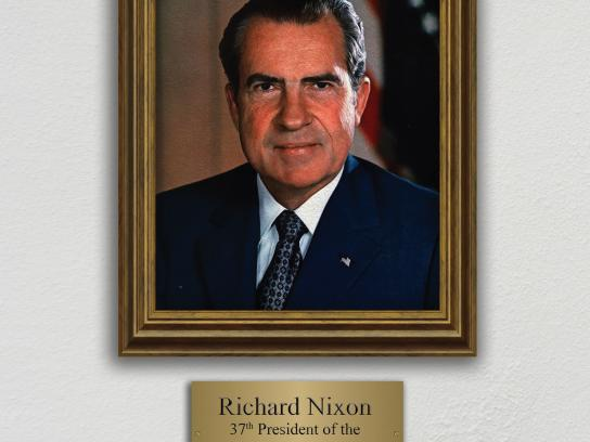 BIC Print Ad - Do Overs Made EZ, Richard Nixon