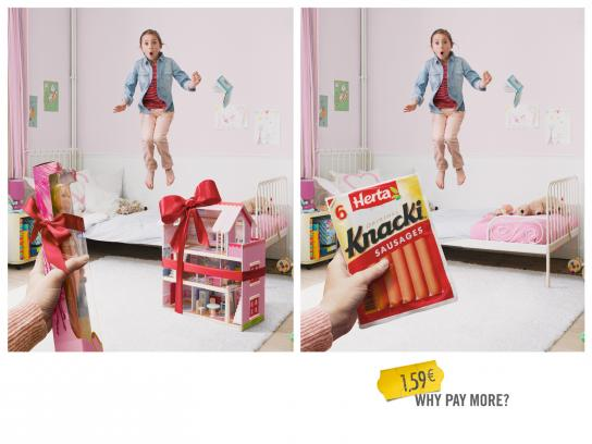 Knacki Outdoor Ad -  Doll house