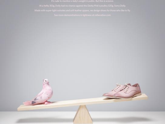 Rollie Print Ad -  Dolly vs Derby Pinks