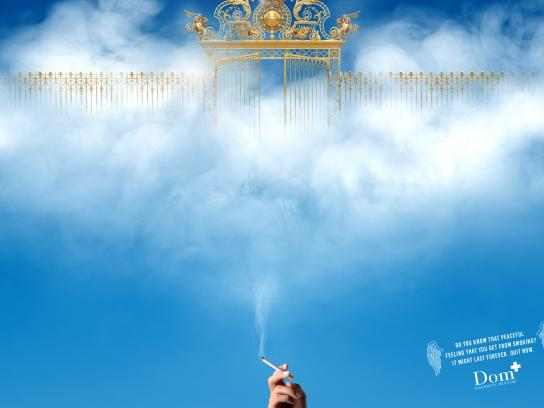 Dom Diagnostic Medicine Print Ad - Stop Smoking