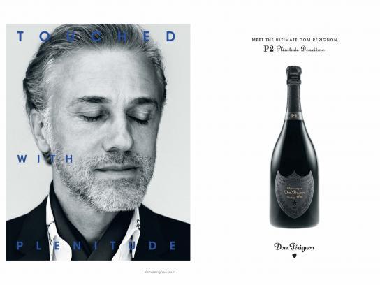Dom Pérignon Print Ad - Touched with Plénitude, 2