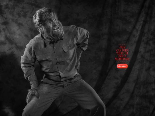 Dominal Print Ad - Werewolf