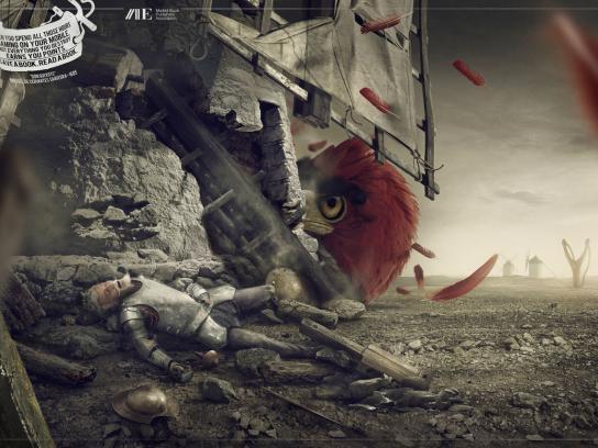 Asociación De Editores De Madrid Print Ad -  Don Quixote