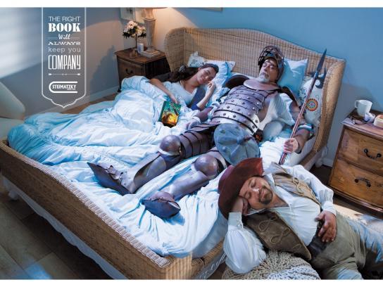 Steimatzky Print Ad -  Don Quixote
