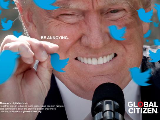 Global Citizen Print Ad - Donald