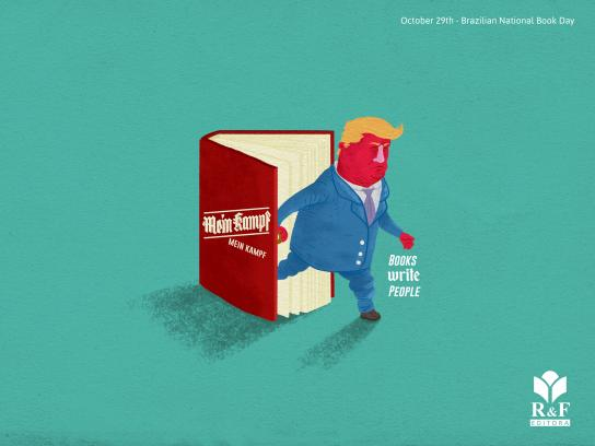 R&F Editora Print Ad - Donald Trump