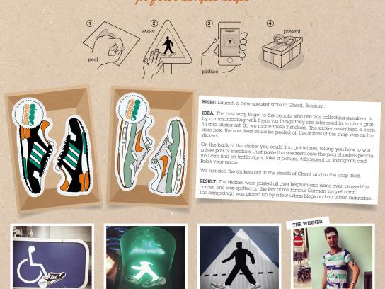 Dope Ambient Ad -  Stickers
