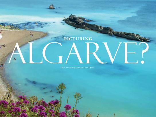 South West Trains Print Ad -  Look closer - Algarve
