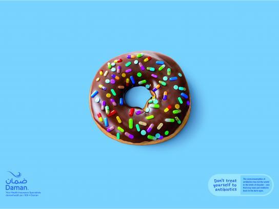 Daman Print Ad - Doughnut