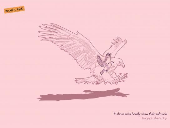 Noah's Ark Creative Print Ad - Father's Day, 2