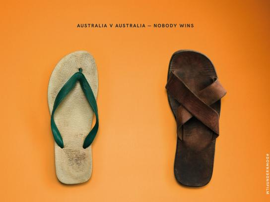 Down Under Outdoor Ad - Nobody wins, 3