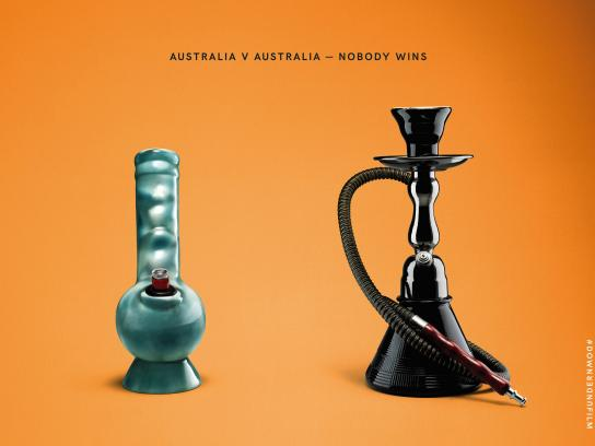 Down Under Outdoor Ad - Nobody wins, 4