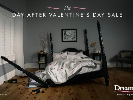Dreams Print Ad -  Bed