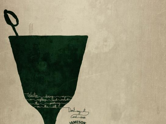 Jameson Print Ad - Nightcap