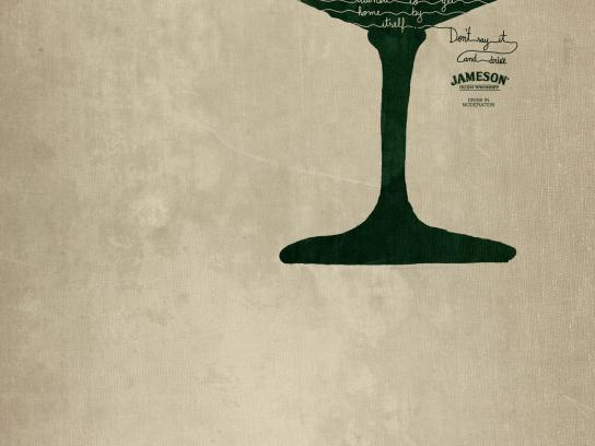 Jameson Print Ad - Trained