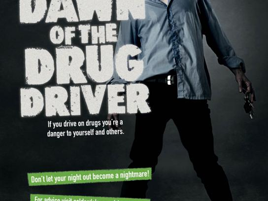 Calderdale Council Print Ad -  Drink and Drug Awareness Campaign, 2