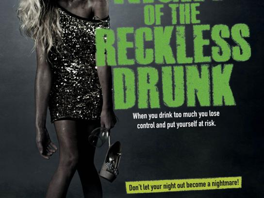 Calderdale Council Print Ad -  Drink and Drug Awareness Campaign, 1