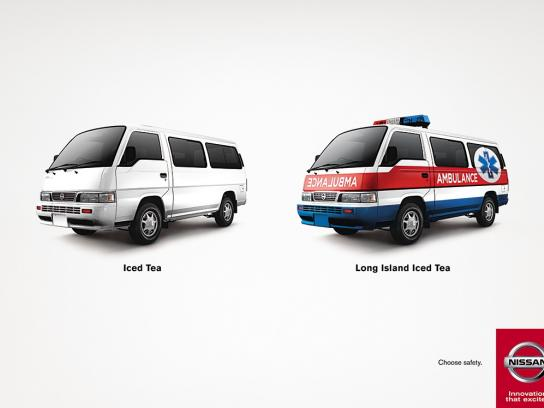 Nissan Print Ad -  Choose safety, 2