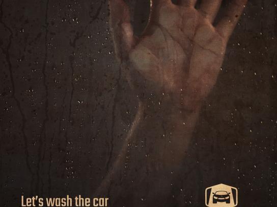 Drive-in Box Print Ad - Wash