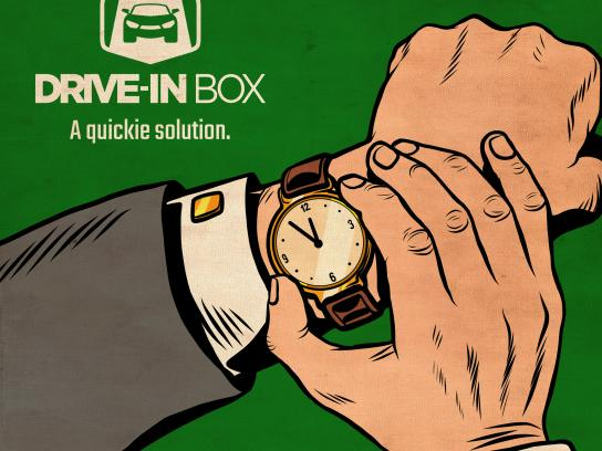 Drive-in Box Print Ad - Watch