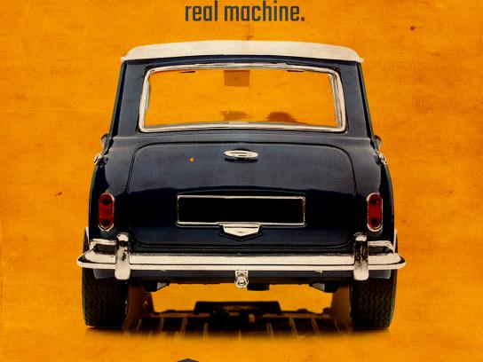Drive-in Box Print Ad - Car
