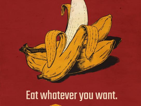 Drive-in Box Print Ad - Banana