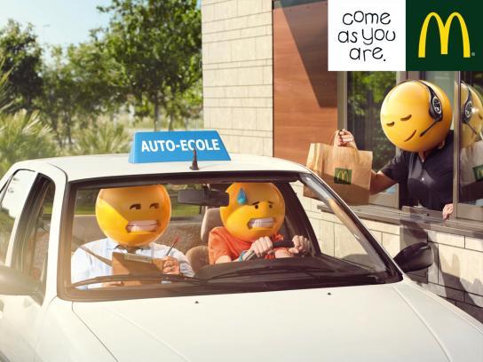 McDonald's Print Ad -  Driving School