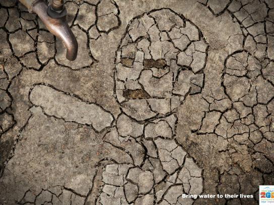 World Water Day Print Ad -  Boy, 2