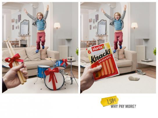 Knacki Outdoor Ad -  Drum kit