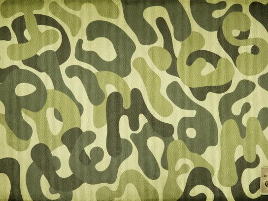 DSK Bank Print Ad -  Camouflage, 1